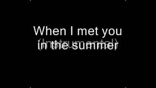 Calvin Harris - Summer (Lyrics)