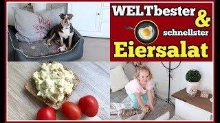 Omi´s EIERSALAT Rezept | WOHNZIMMER-Update | KOFFER für Alle packen 👜 FamilyVlog #216 | 16.07.2018