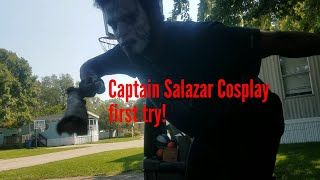 First try at Captain Salazar cosplay and it's keapable