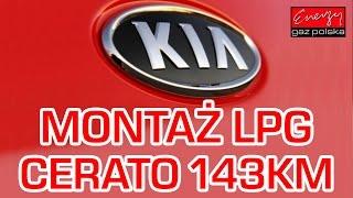 Montaż LPG KIA Cerato z 2.0 143KM 2004r w Energy Gaz Polska na gaz BRC Sequent 32!