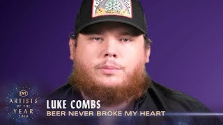 Luke Combs 'Beer Never Broke My Heart' | Hit Story Video