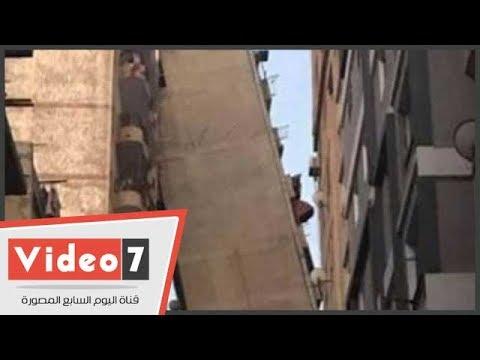 شاهد برج الإسكندرية المائل