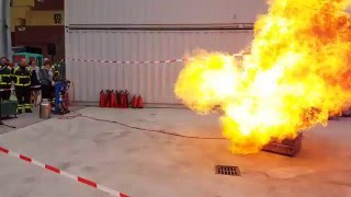 Explosie (Bleve) op Fire & Safety Training Centre STC B.V.