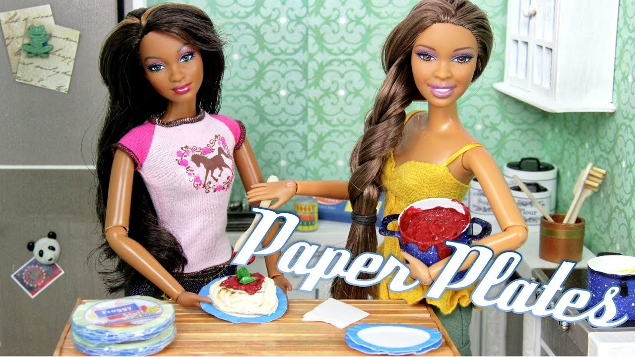 How To Make Doll Paper Plates