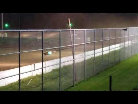 Wendell Pinckney September 28, 2018 McKean County Raceway Crate Late Model Heat 1