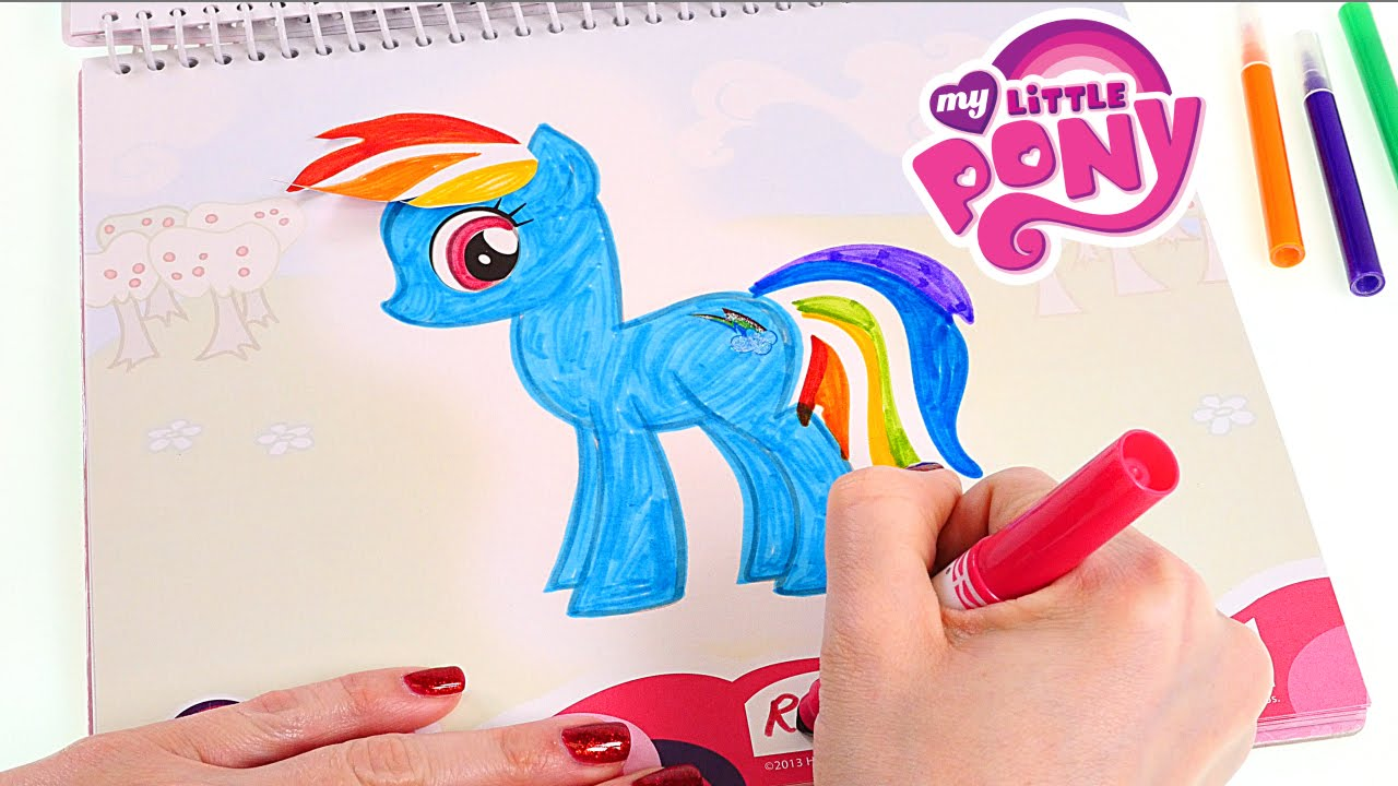 My Little Pony Libro de Actividades Sketchbook Colorea Dibuja Crea y ...