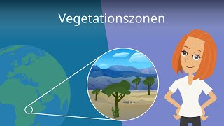 Vegetationszonen & Klimazonen einfach erklärt!