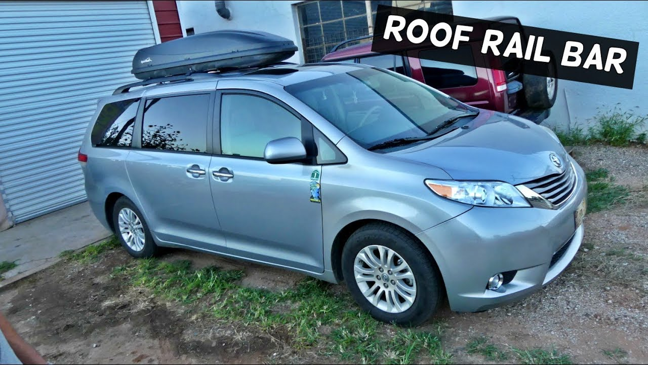 How To Install Roof Rack On Toyota Sienna 2011 2012 2013
