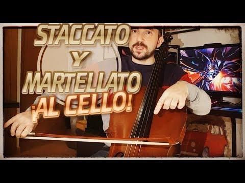🎻 Cómo Estudiar STACCATO y MARTELÉ al Cello