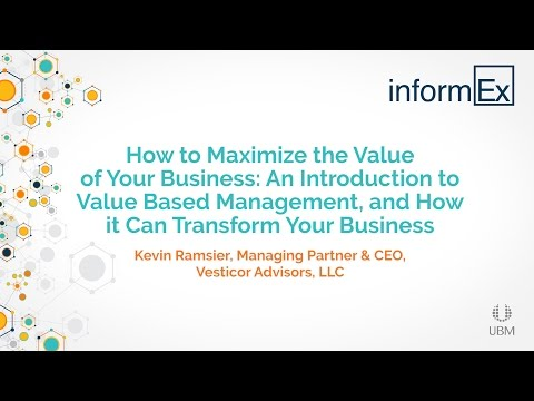 An Introduction to Value Based Management