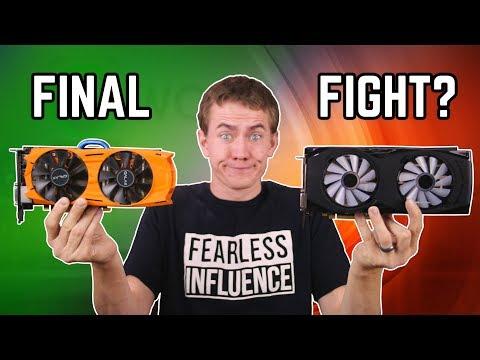 FINAL ANSWER! - GTX 1060 vs RX 480 & 580