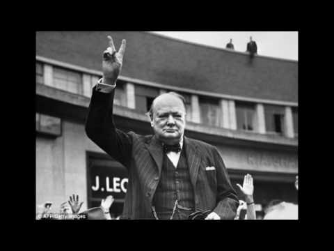 May 8, 1945 Churchill says Germany surrenders