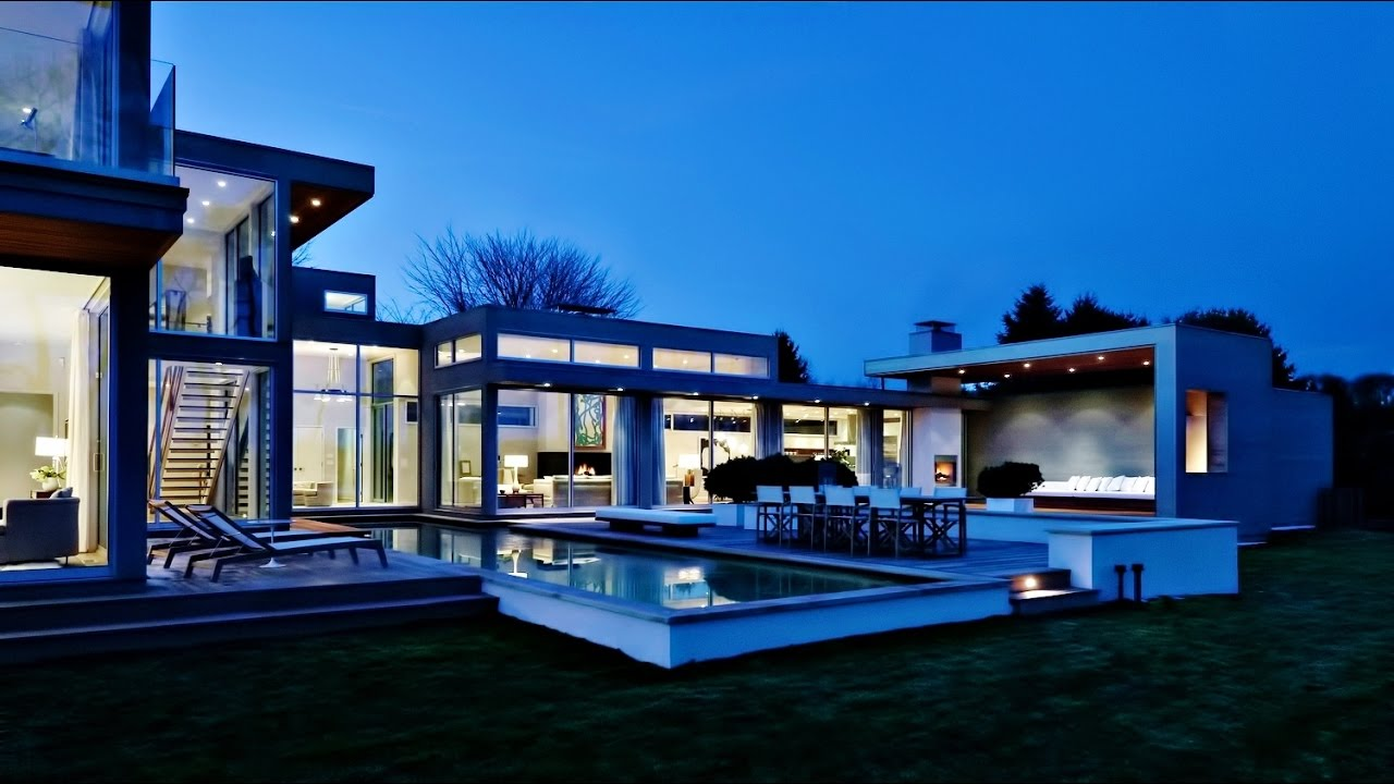 Sensational Modern Contemporary Luxury Residence   East Hampton NY US (by  Blaze Makoid Architecture). Luxury Homes