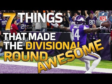 7 AWESOME Things from the Divisional Round! | NFL Highlights