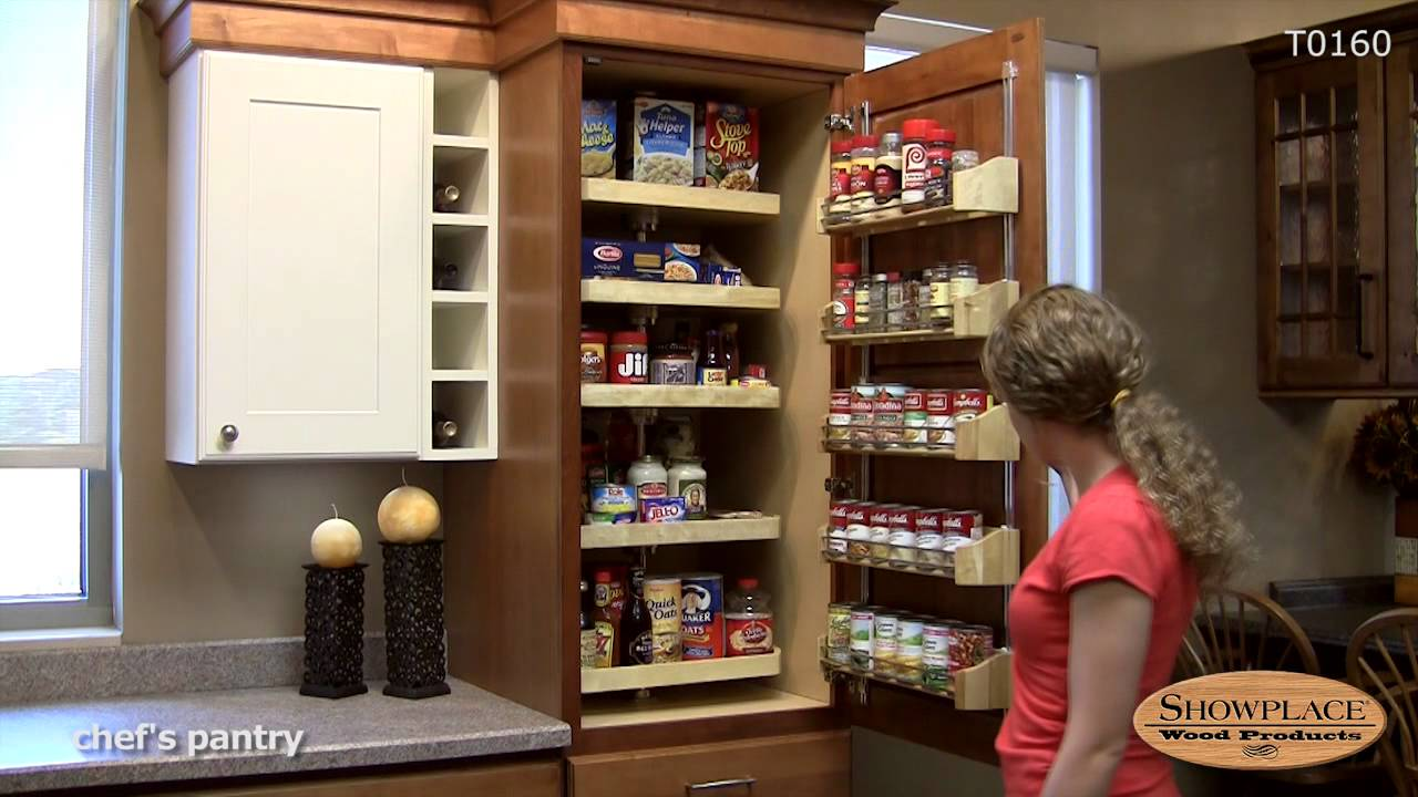 Chef S Pantry With Drawers Showplace Kitchen Convenience