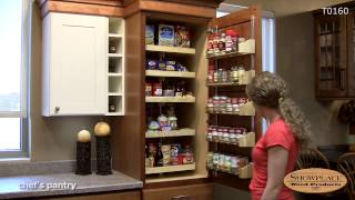 Chef's Pantry With Drawers - Showplace Kitchen Convenience Accessories