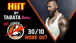 TABATA 30/10 - NO CountDown - Interval Workout Music