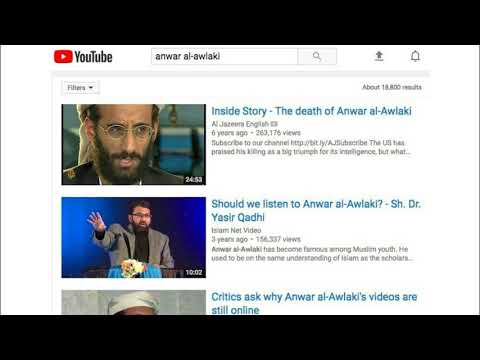 In 'Watershed Moment,' YouTube Blocks Extremist Cleric's Message.