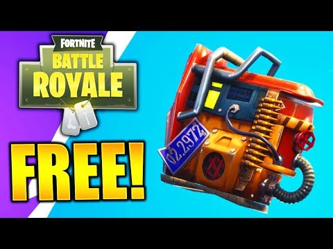 HOW TO GET A NEW FREE BACK BLING! *NEW* FREE RUST BUCKET BACK BLING FORTNITE FREE SKINS!