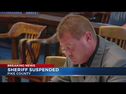 Pike County Sheriff suspended following indictments - YouTube