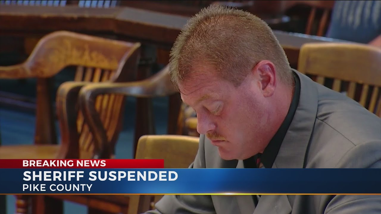 Pike County Sheriff suspended following indictments