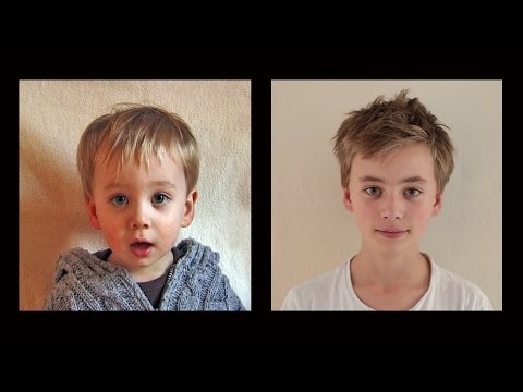 Portrait of Vince, From 0 to 13 years in 3 ½ minutes.