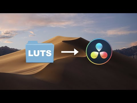 How To Install LUTS In DaVinci Resolve!