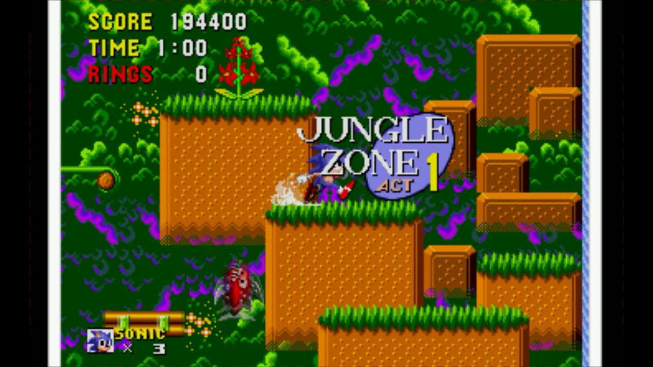 Sonic The Hedgehog Master System Game Gear Remake Youtube