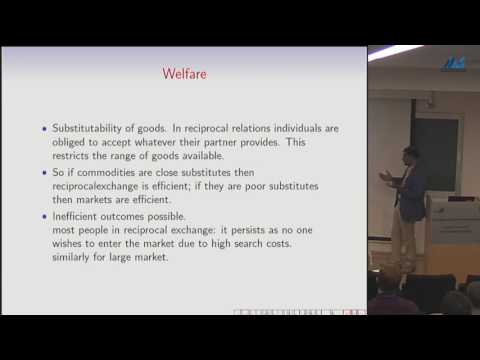 Sanjeev Goyal - Networks and Markets II