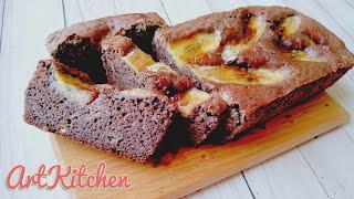 Банановый кекс без глютена Веганский банановый хлеб Бананово шоколадный кекс постный рецепт