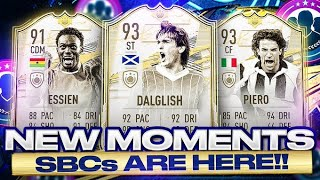 93 ICON MOMENTS KING KENNY, 91 MOMENTS ESSIEN, 93 DEL PIERO SBCS ARE HERE! 🤩 FIFA 21 Ultimate Team