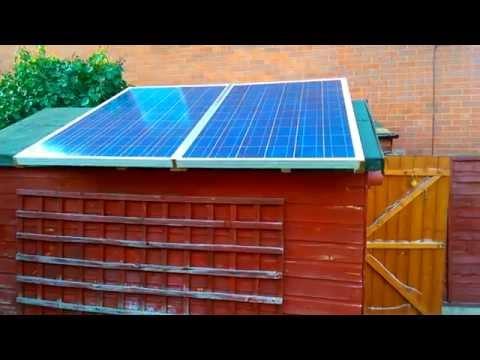 Solar-powered Bitcoin Mining Farm