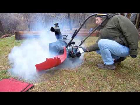 Toro Snowblower Carburetor Spray Cleaning, Using Sea Foam
