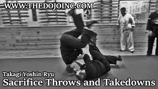 Martial Arts Samurai Budo Throw Practice and Principles of Armor Takedowns