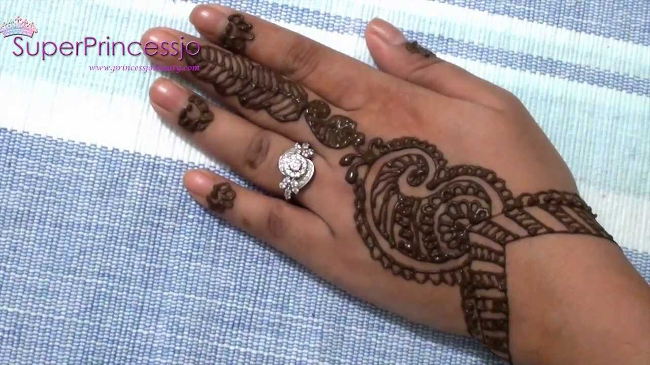 Simple Eid Mehndi Designs 2013 : How to make henna mehendi designs eid design new