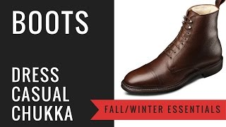 Men's Fall & Winter Leather Boots