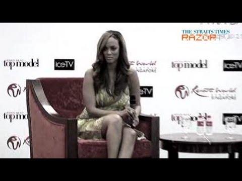 Tyra likes Asian Men (Tyra Banks pt 2)