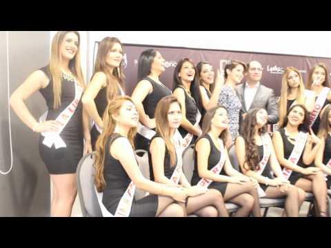 Foto Oficial Rueda de Prensa MISS SUDAMERICA PERU 2016