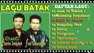 Charles Simbolon Feat Joel Simorangkir Lagu Batak Terbaik Album Terpopuler - Lagu Jadul