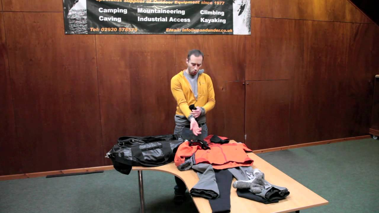 Andy's Clothing System for Scottish Winter Climbing
