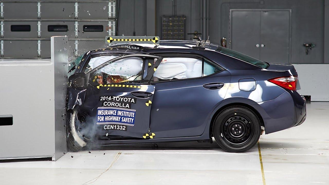 2014 Toyota Corolla Driver Side Small Overlap Iihs Crash