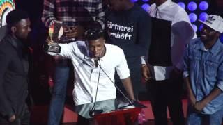 Kofi Kinaata wins Best New Artiste @ VGMA 2016