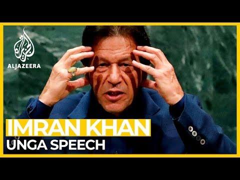Pakistan PM Imran Khan Addresses United Nations General Assembly