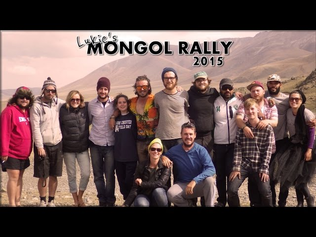 Lukie\'s Mongol Rally (2015) - Team Genghis Kang