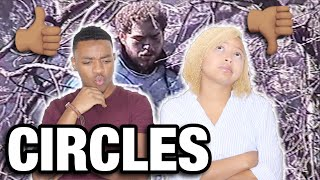 POST MALONE- CIRCLES OFFICIAL AUDIO REACTION