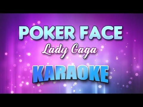 Lady Gaga - Poker Face (Karaoke version with Lyrics)