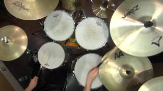 Repeat youtube video Dragonforce - Heroes Of Our Time Drum cover