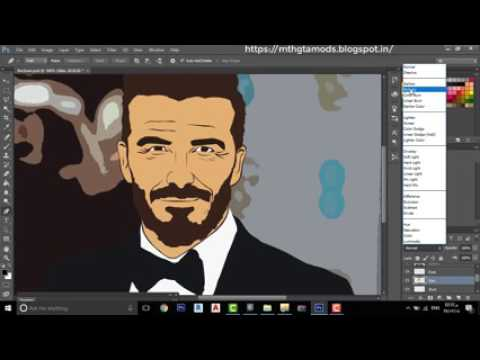 Photoshop cs6 cartoon effect plugin