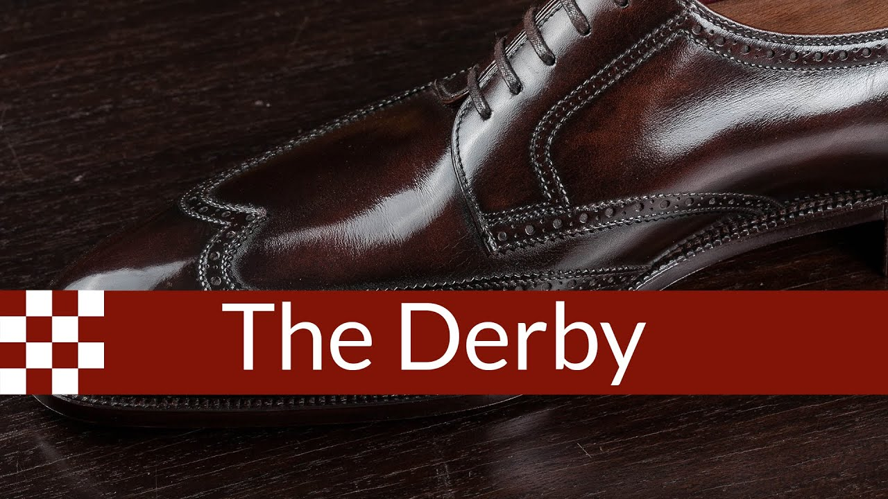 GUIDE TO MEN'S DERBY or Blucher SHOES | HOW TO WEAR and PAIR DERBY .