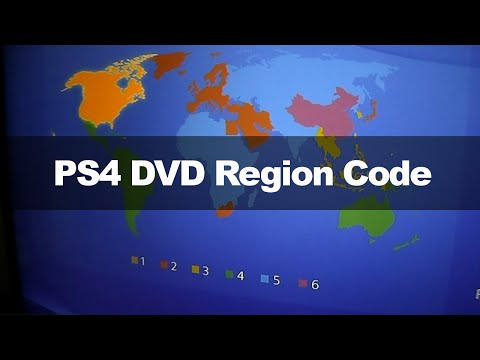 PS4 - Playing DVDs From Other Regions